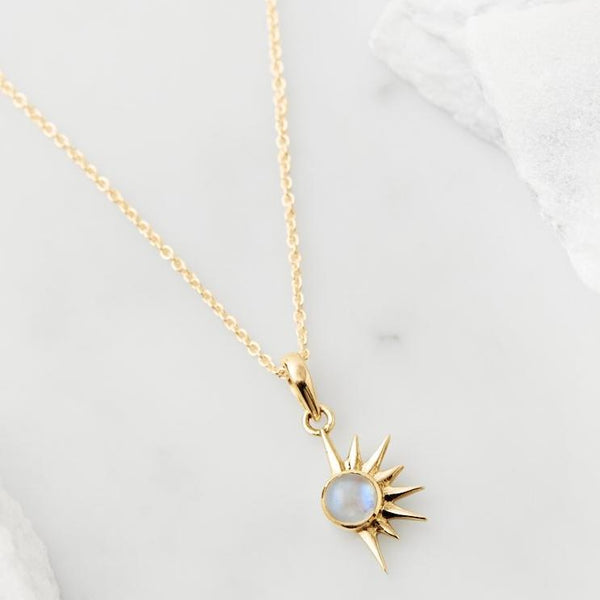 TOTAL ECLIPSE NECKLACE - GOLD