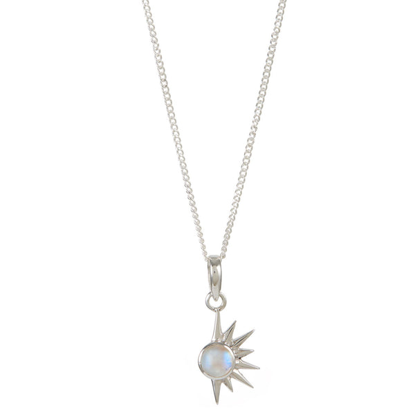 TOTAL ECLIPSE NECKLACE - SILVER