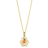 SACRAL CHAKRA NECKLACE - GOLD