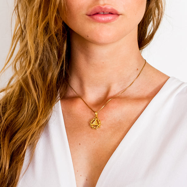 SOLAR PLEXUS NECKLACE GOLD
