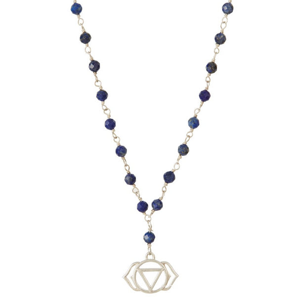 THIRD EYE CHAKRA GEMSTONE NECKLACE