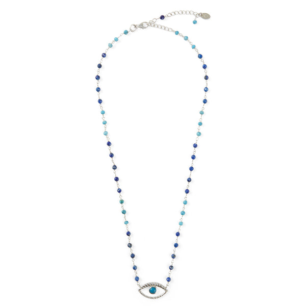 EVIL EYE TURQUOISE PROTECTION NECKLACE