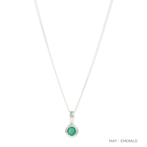 MAY EMERALD BIRTHSTONE CHARM