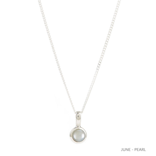 PEARL JUNE BIRTHSTONE CHARM