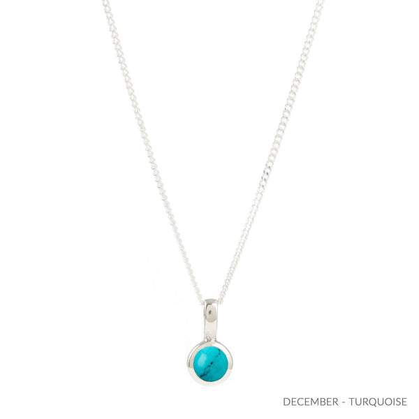 DECEMBER TURQUOISE BIRTHSTONE CHARM