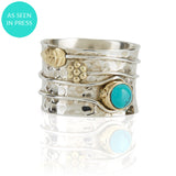 Secret Garden Ring Turquoise