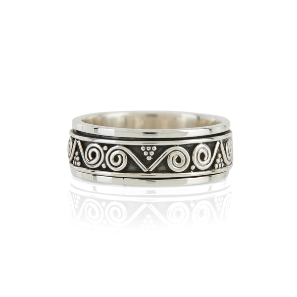 Men's Aztec Wanderer Spinning Ring
