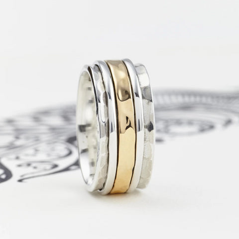 Men's Karma Fortune Spinning Ring