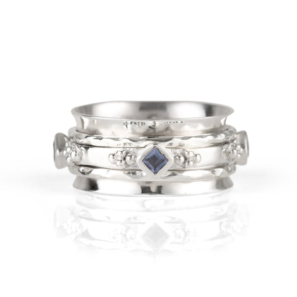 DIVINITY PRINCESS SPINNING RING - IOLITE