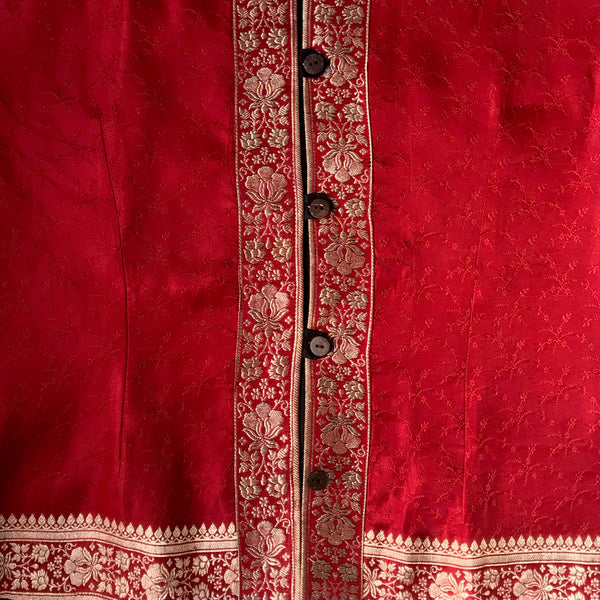 Recycled Brocade Sari Jacket