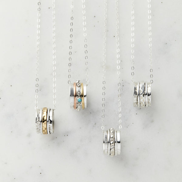 Spinning Charm Necklaces