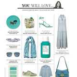 SECRET GARDEN TURQUOISE RING IN YOU MAGAZINE