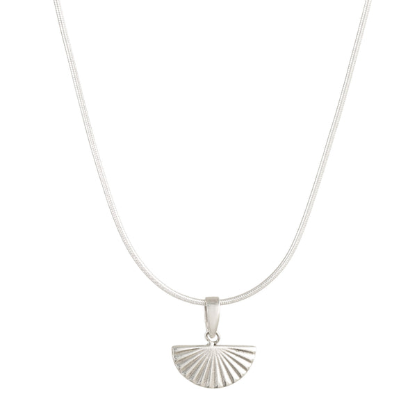 Deco Fan Rays Necklace