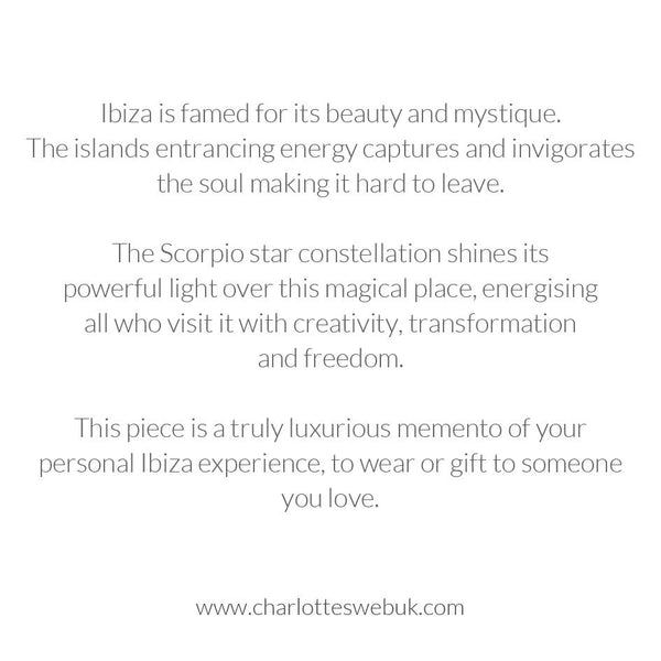 Ibiza Map Necklace Gift Card
