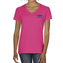 Load image into Gallery viewer, Golden PAWS Logo V-Neck (Light Colors)