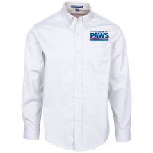 Load image into Gallery viewer, Golden PAWS Embroidered Logo Men's Button-Down (Light Colors)