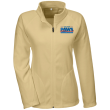 Load image into Gallery viewer, Golden PAWS Embroidered Logo Microfleece Jacket (Light Colors)
