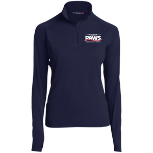 Golden PAWS Embroidered Logo 1/2 Zip Performance Pullover