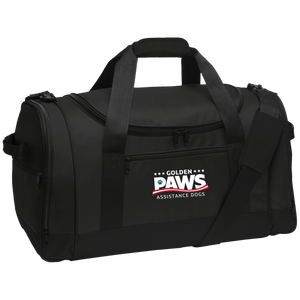 Golden PAWS Embroidered Logo Sports/Travel Duffel