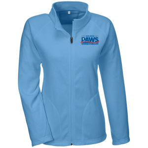 Golden PAWS Embroidered Logo Microfleece Jacket (Light Colors)