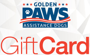 Golden PAWS Gift Card