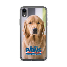 Load image into Gallery viewer, Golden PAWS Portrait iPhone Case