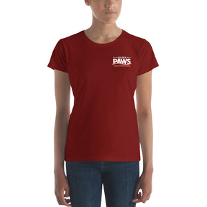 Short Sleeve Ladies T-Shirt - Dark