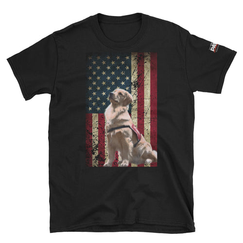 Golden PAWS Old Glory T-Shirt