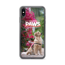 Load image into Gallery viewer, Golden PAWS Flowers iPhone Case