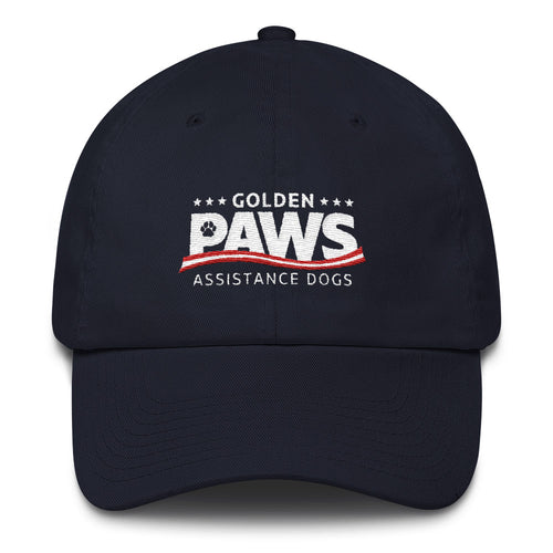 Golden PAWS Logo Hat