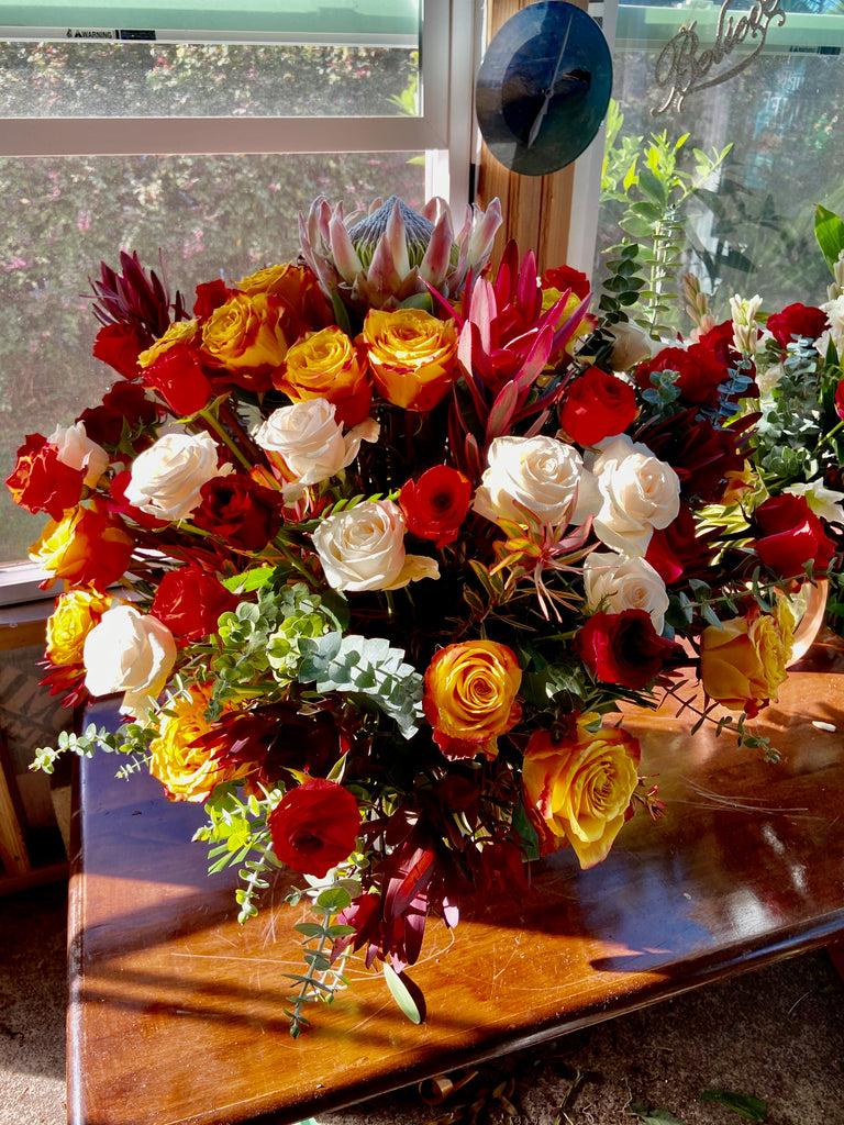 Colors Of Life - Rose Celebration Arrangement