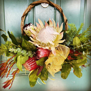 Rustic Elegance Holiday Wreath