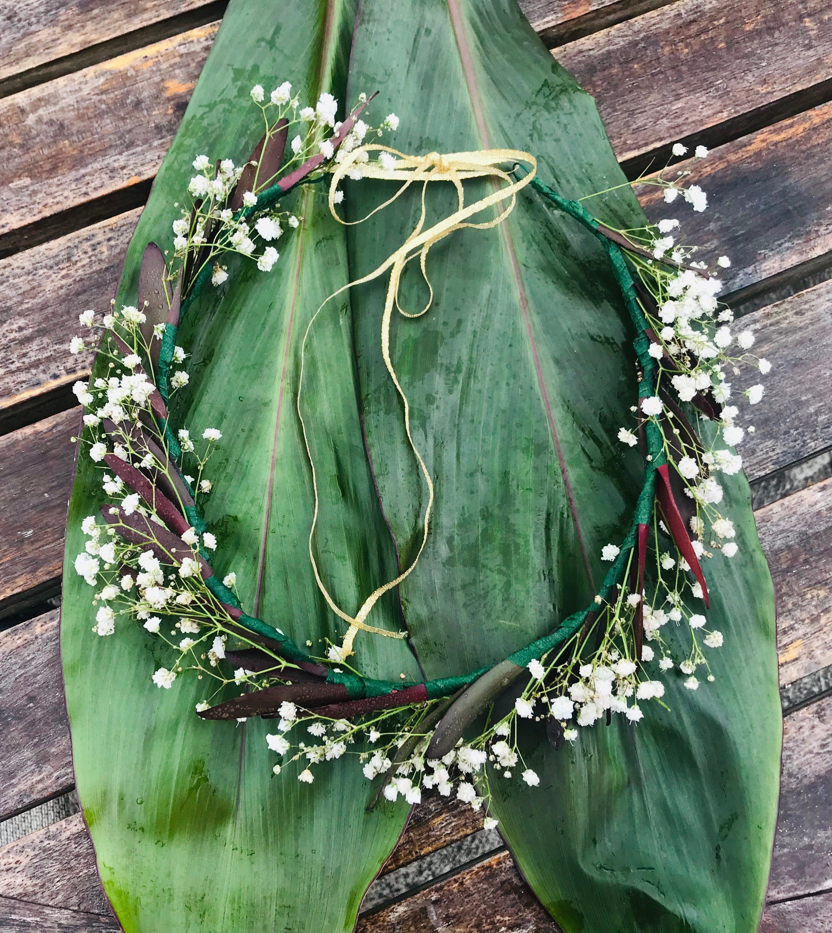 "Maui Princess ~ ""Simple and lovely"" Bridal or Celebration Crown"