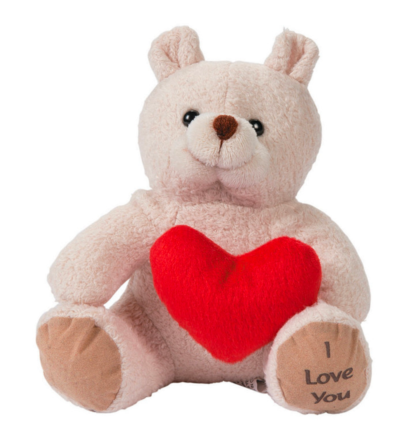"Mini Valentine's Stuffed  ""I Love You"" Bear"
