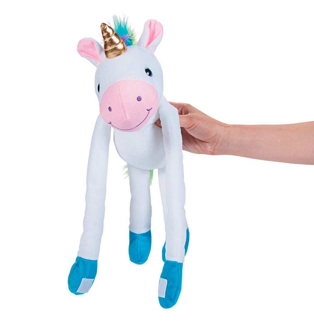 Large Long Arm Stuffed Unicorn 24""