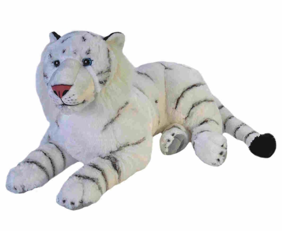 White Tiger Stuffed Animal 30 Inches ~ Sold Out - Back Orders Available!