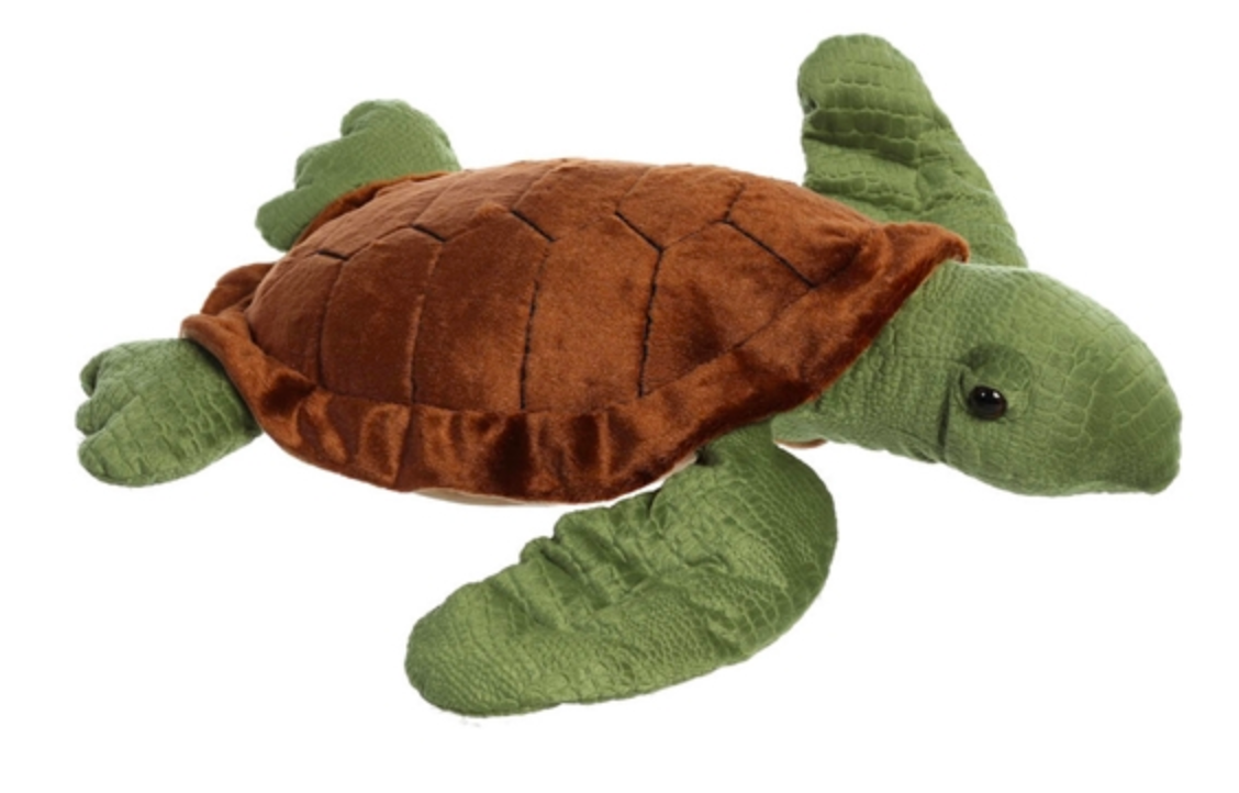 Jumbo Stuffed Sea Turtle