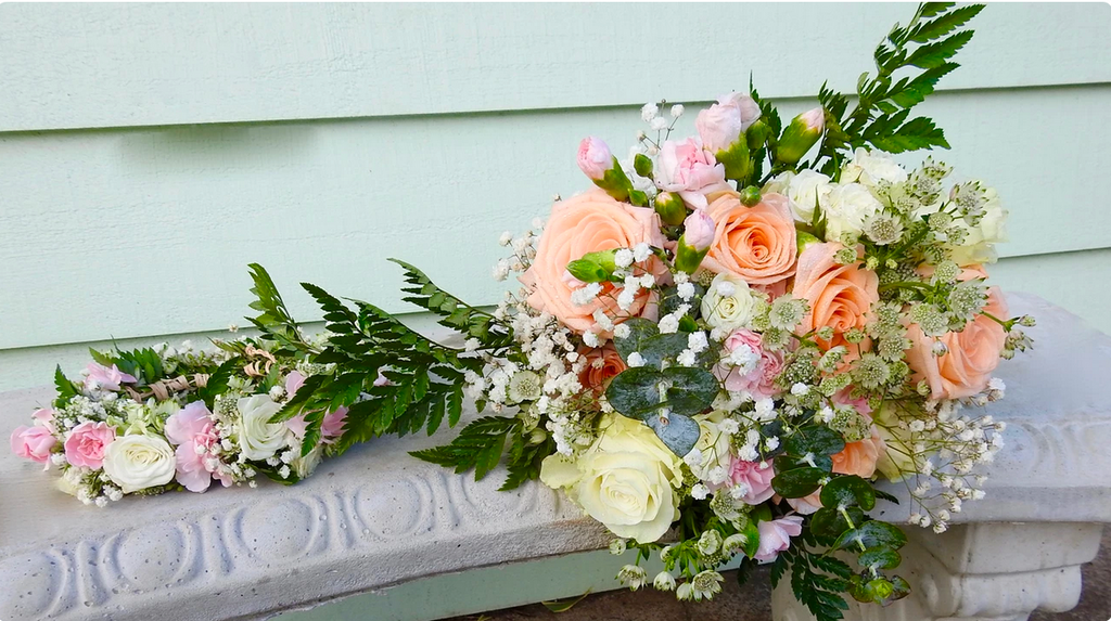Haku and Bridal Bouquet Combo