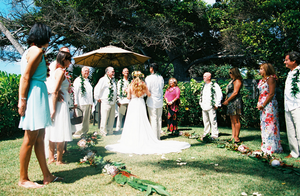 Ceremony Floral Ground Circle