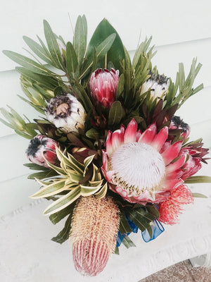 Large Corporate Protea Arrangement ~ No scent arrangements
