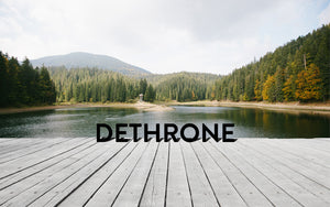 Dethrone homepage dock logo