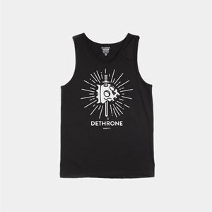 Dethrone, KNIFE SKULL TANK - Black