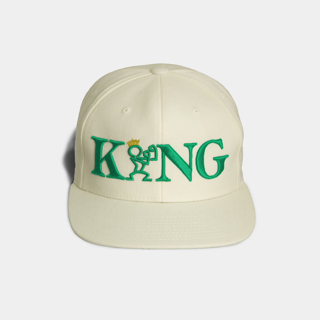READY KING SNAPBACK - Cream