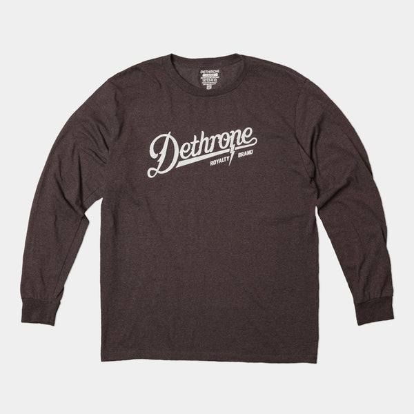 Dethrone, SCRIPT LONG SLEEVE