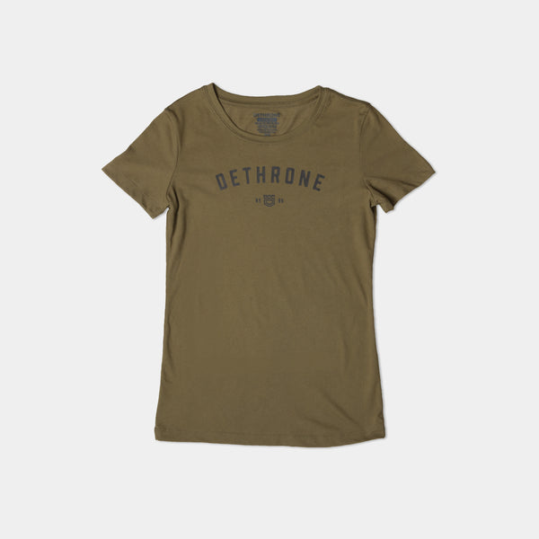 Dethrone, LOGO TEE - Women's