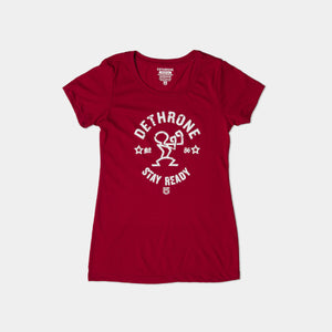 Dethrone, ORIGINAL READY TEE - Women's