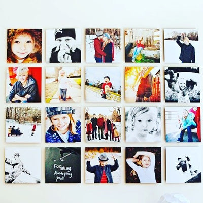 8 customized canvases