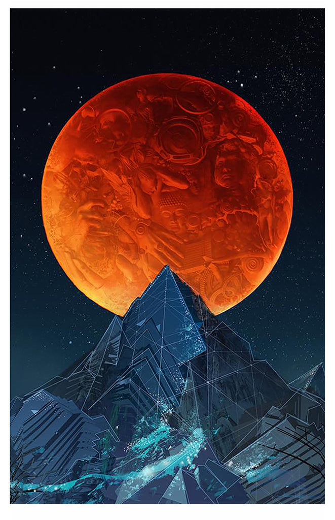 Blood Moon -Omega Canvas Sale