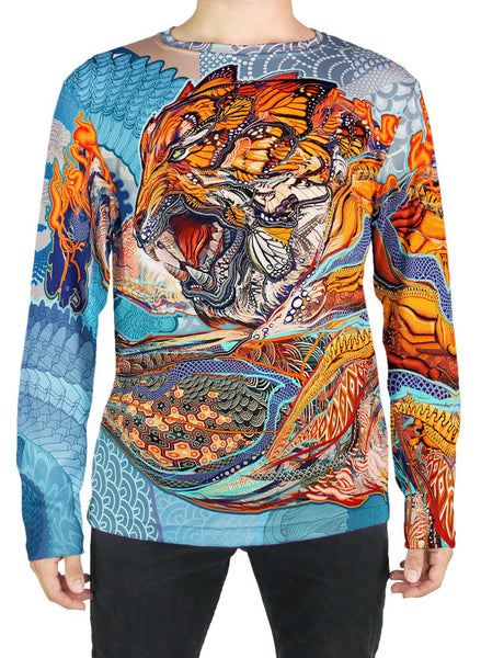 Tiger Swallow Tail Long Sleeve
