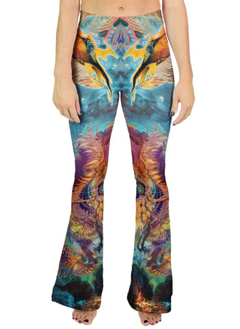 HUMMING DRAGON BELL LEGGINGS